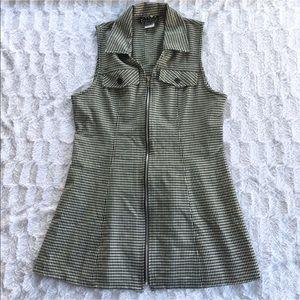 Vintage Collared Mini Dress